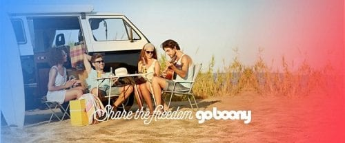 Camper marketplace Goboony raises €579k crowdfunding; partners with MyWheels