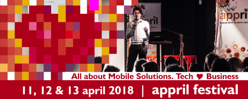 Appril Festival is back, providing an overview of 10 years app-industry in the Netherlands
