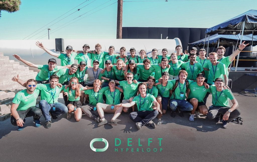 Delft Hyperloop secures second spot in Elon Musk's Hyperloop Pod Competition at SpaceX