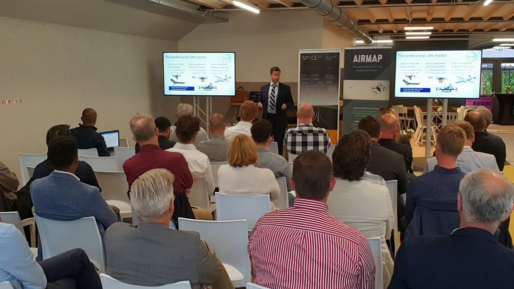 Space53 partners with AirMap to bring air traffic control for drones in the Netherlands