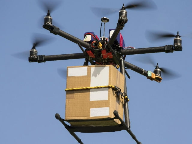 This Dutch startup uses blockchains, drones and droids to transport and deliver packages