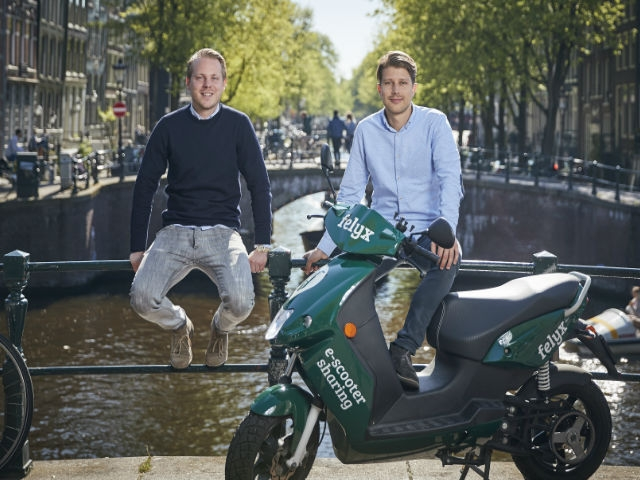 Dutch electric scooter startup felyx raises €3M for expansion in Rotterdam