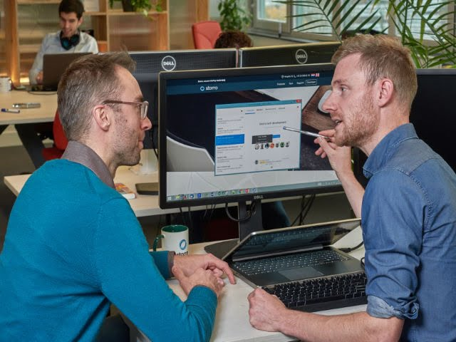 Dutch startup, EIT Digital Challenge winner Storro wins The Labs Battle at Fujitsu World Tour