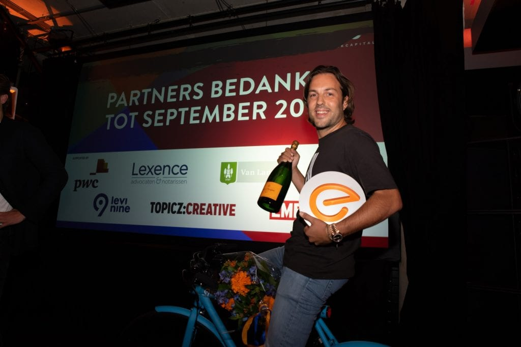 LOEY Award 2018: Adriaan Mol from Mollie wins best online entrepreneur of the Netherlands