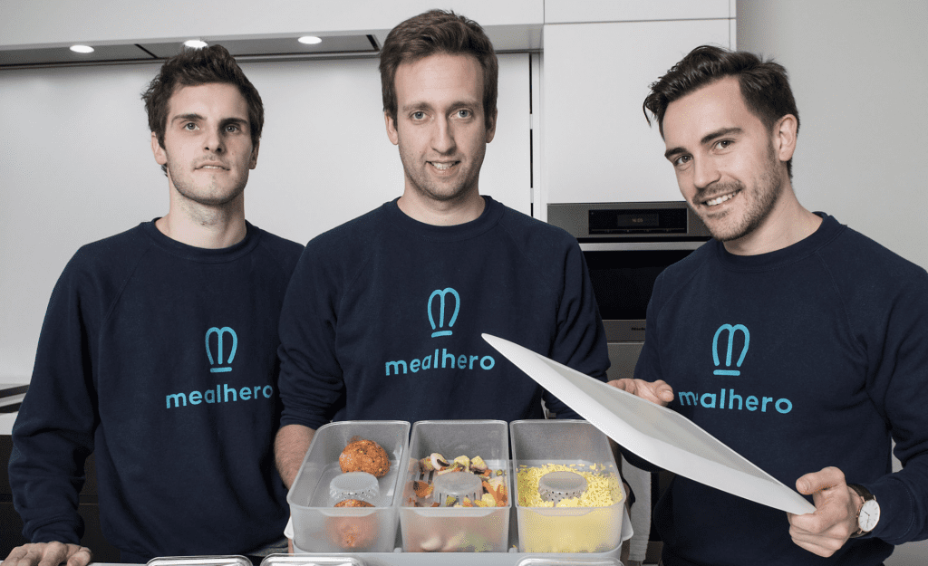 Mealhero: This Belgian startup raised €900,000 of seed funding for its smart food service