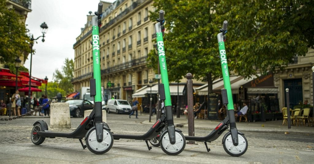 Taxify announces plans to unveil Bolt: E-scooter startups war heats up in Europe