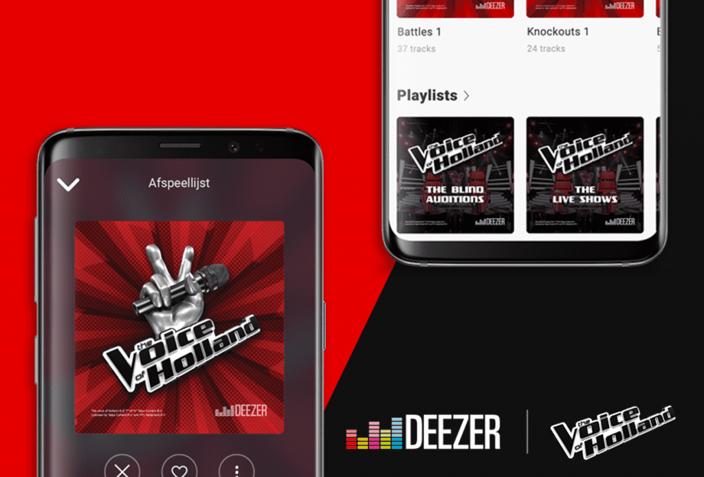 French Spotify rival Deezer partners with RTL and Talpa for 'The voice of Holland'