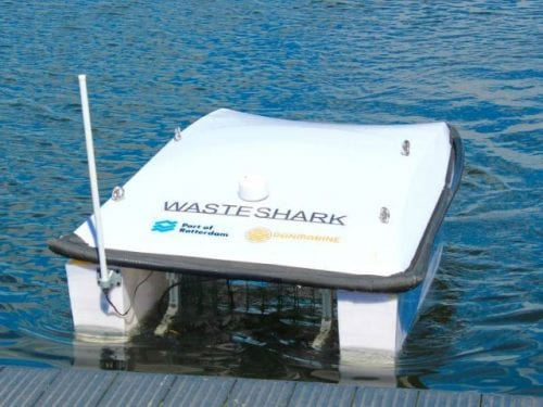 This Dutch startup has developed an 'aqua Wall-E' that eats up all the floating plastic garbage