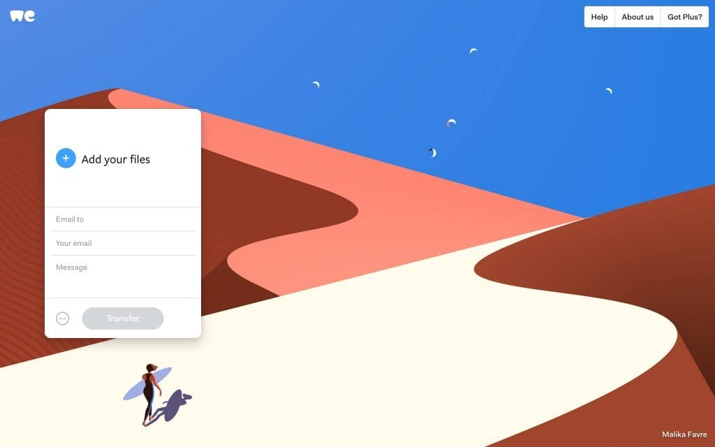 WeTransfer goes completely Trump; harasses media to take down stories [UPDATED]