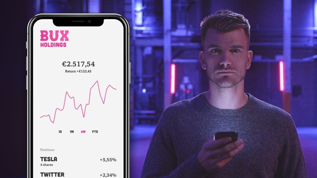 Dutch trading startup unveils STOCKS: An app to provide investment in shares without transaction