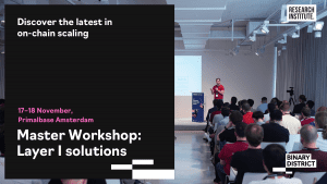 Leading experts discuss blockchain scaling solutions in Amsterdam, you can join them