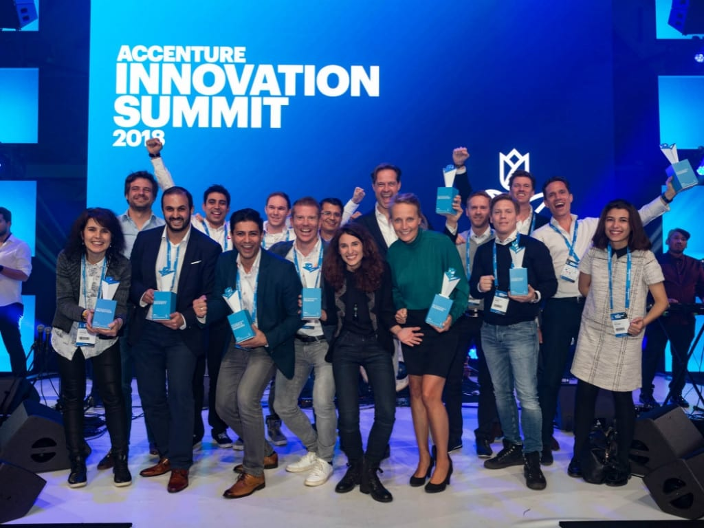 These 8 Dutch startups were named winners at Accenture Innovation Awards 2018