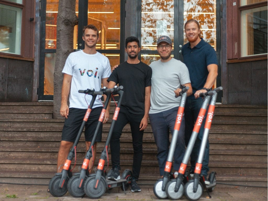 Swedish e-scooter startup VOI Technology raises $50M, plans expansion in Netherlands and Belgium