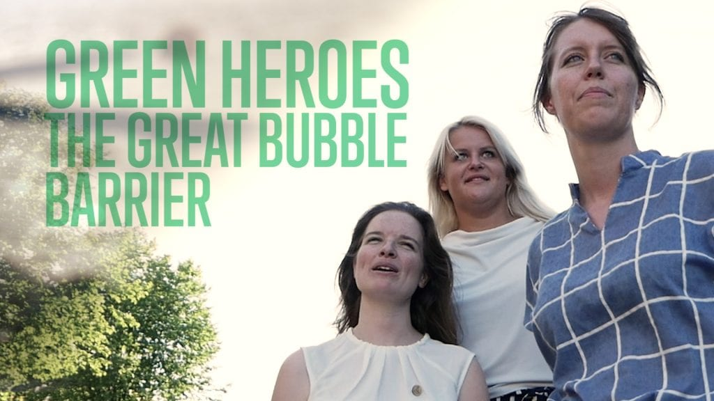 This Dutch women-led startup hunts for plastics in the river