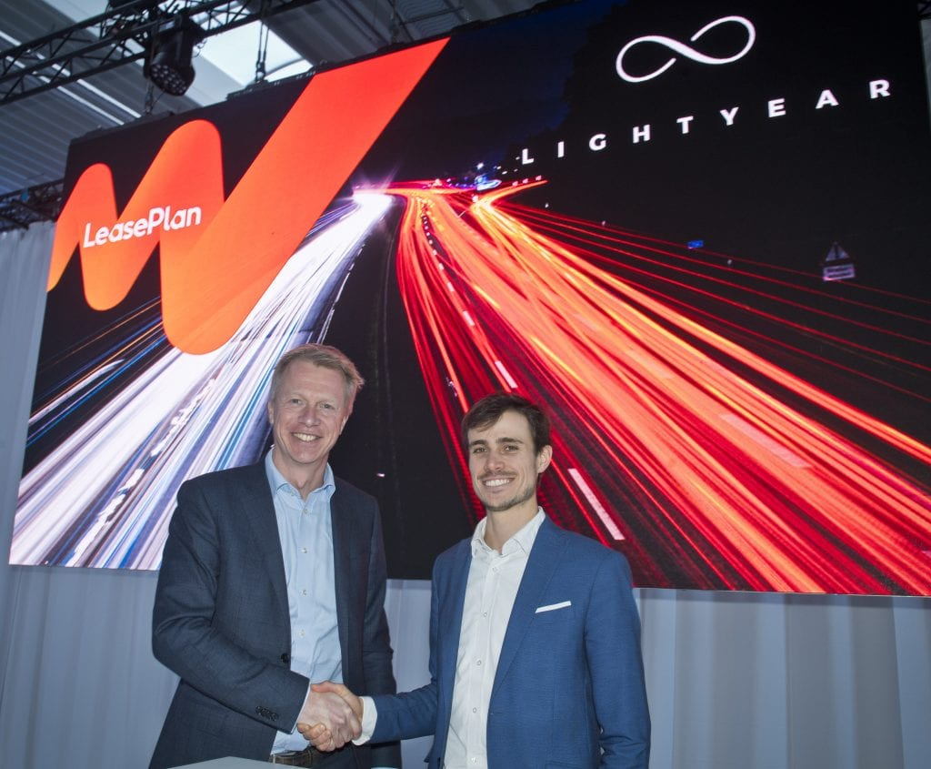 Dutch car maker Lightyear to launch first solar car in 2020 with LeasePlan Nederland
