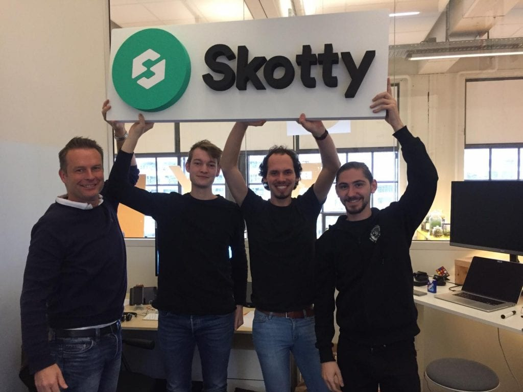 Dutch file-sharing startup Skotty.io plans to raise €325K, expects to become profitable by 2020