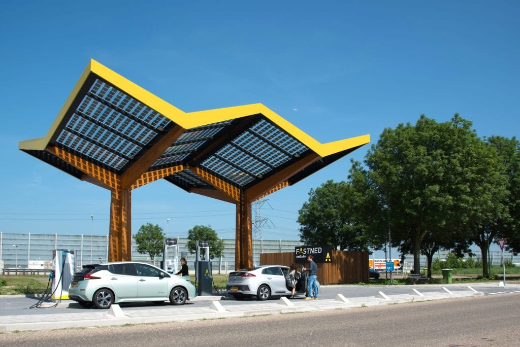 Amsterdam-based fast-charging startup Fastned expands to the United Kingdom