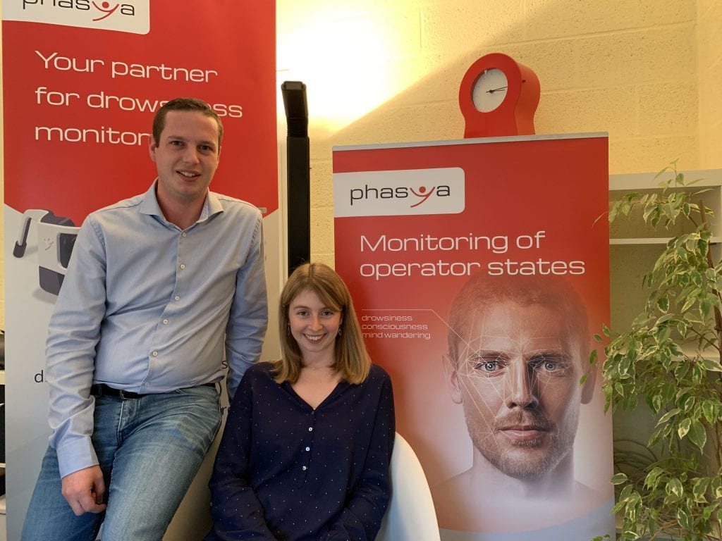 Belgian startup that develops drowsiness detection software just raised around €1M funding