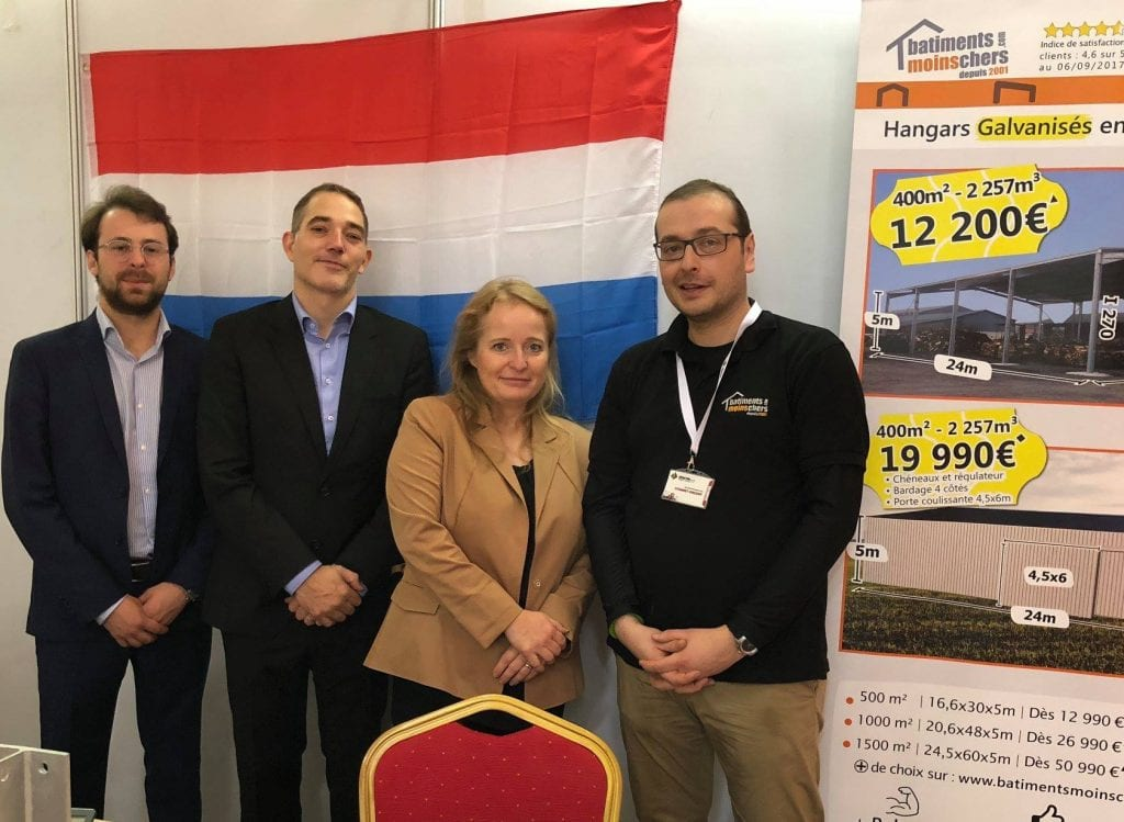 Luxembourg scaleup that sells steel framed buildings online is on a dream run