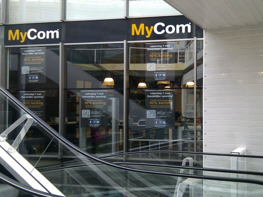 Dutch computer retailer MyCom shuts down seven stores in the Netherlands