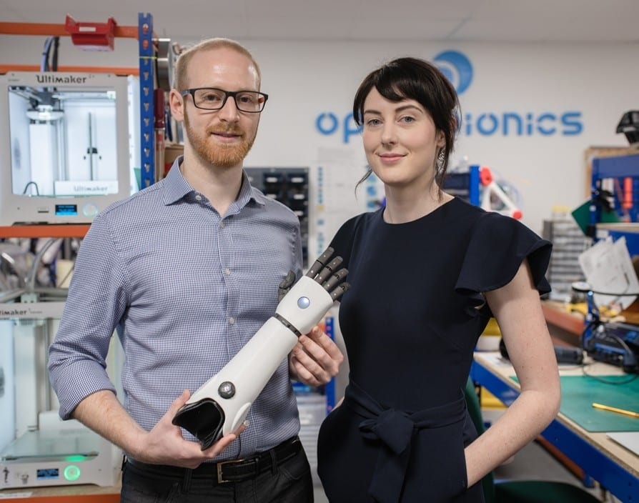 Open Bionics, UK-based startup which makes cool and low-cost bionic limbs just scored $5.9M Series A funding