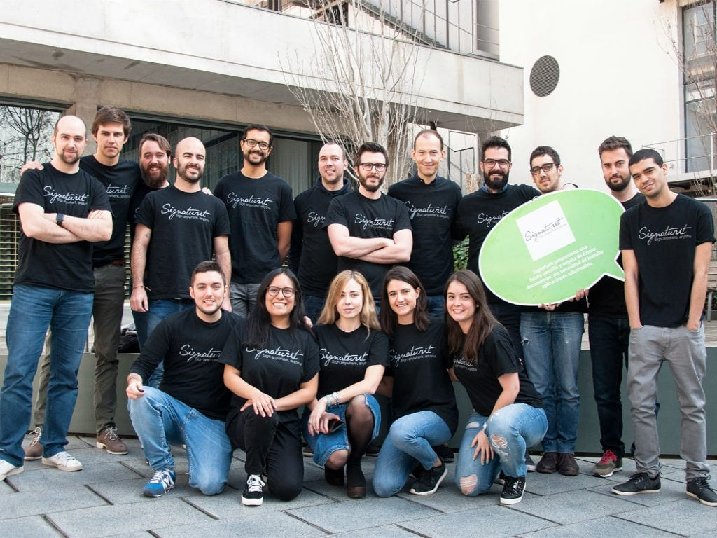 With €7M funding, this Barcelona-based startup wants to make electronic signatures easy and secure on smartphones
