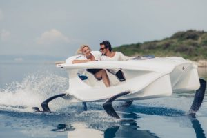 This Slovenian startup has developed a watercraft that looks like a spaceship from Star Wars