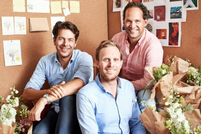 Dutch banking giant Rabobank invests €7.5M in unique subscription-based flower delivery startup Bloomon