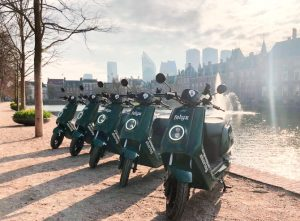The greenest sharable e-scooters from Amsterdam enter The Hague: Here's how to use it!