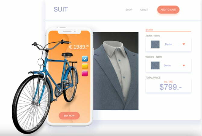 Eindhoven-based tech startup Expivi has created an impressive interactive 3D & AR e-commerce