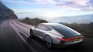"Tesla rival alert: Dutch car maker Lightyear unveils ""solar"" electric car which can range up to 725 km on a single charge"