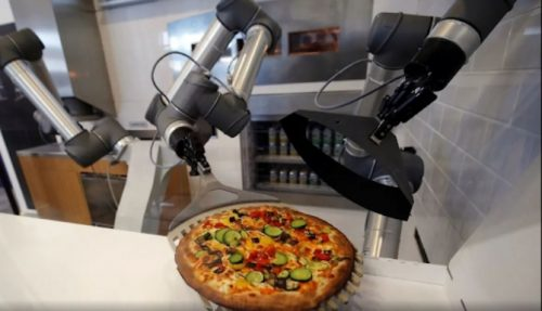 Pizza-making robot is for real: Pazzi, French startup creates World's first autonomous restaurant that serves a pizza every 30 seconds