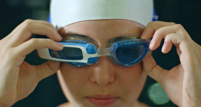Here's how London-based startup SwimAR is using Augmented Reality to help swimmers enhance their performance underwater