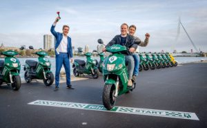 5 e-vehicle rental services available in Rotterdam in 2019