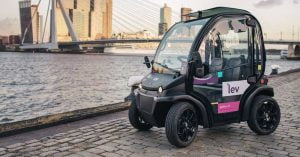 Lev electric vehicle sharing launched in Rotterdam today