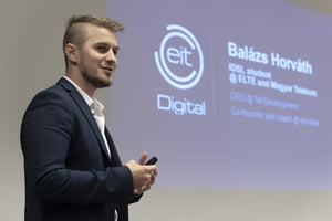 EIT Digital Conference panel speaker Balazs Horvath