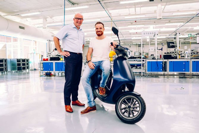 Amsterdam-based Etergo partners with Emmen manufacturer to make AppScooters in its backyard