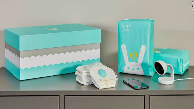 This smart diaper can now track when you need to change your baby's nappy