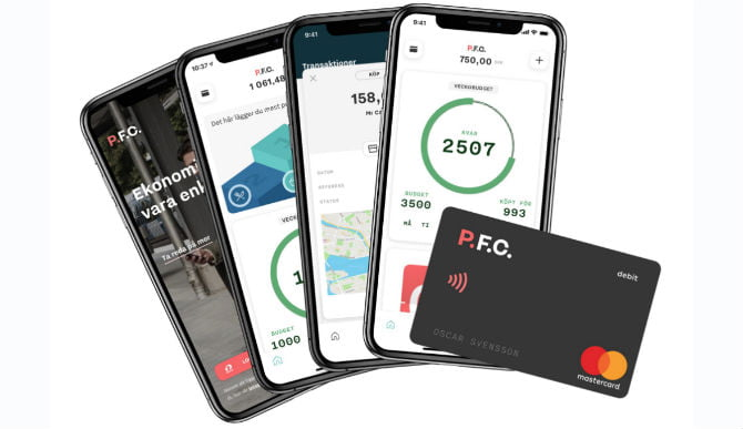 With €5M funding Swedish neobank PFC is all set to compete with Revolut and N26 in the fintech race