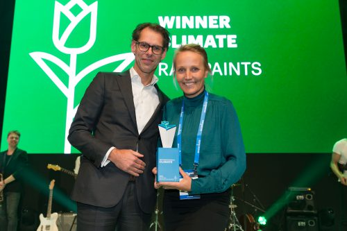 RAW Paints winner Accenture Innovation Awards Climate 2019