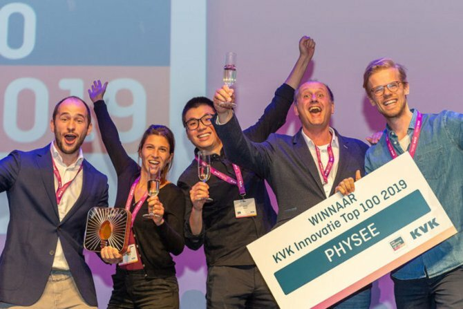 Physee wins KVK Innovation Top 100 2019: Top 5 things to know about the Dutch startup
