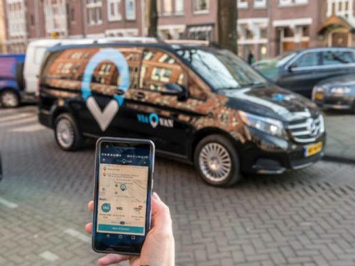 Uber rival European ride-sharing startup ViaVan launches first on-demand mobility service in Finland