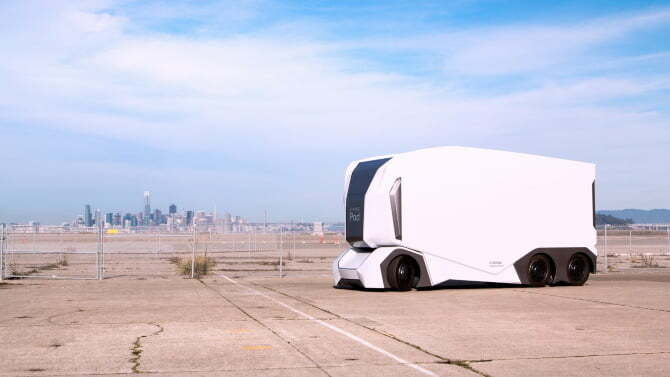 Stockholm-based electric truck startup that makes StormTrooper look alike self-driving truck gets huge funding