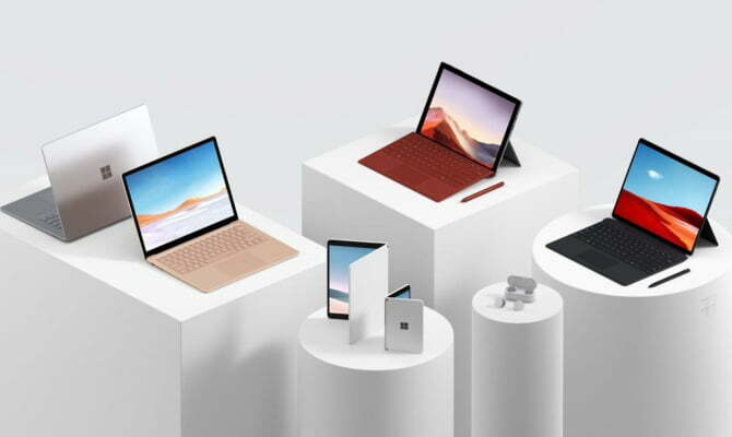 Microsoft 2019 Surface event highlights: Dual screen devices, Surface earbuds, faster laptops and price in Europe