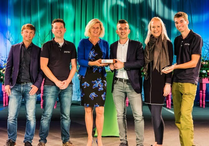 Developing drones for insect control: PATS, a TU Delft spinoff secures €250K investment from UNIIQ