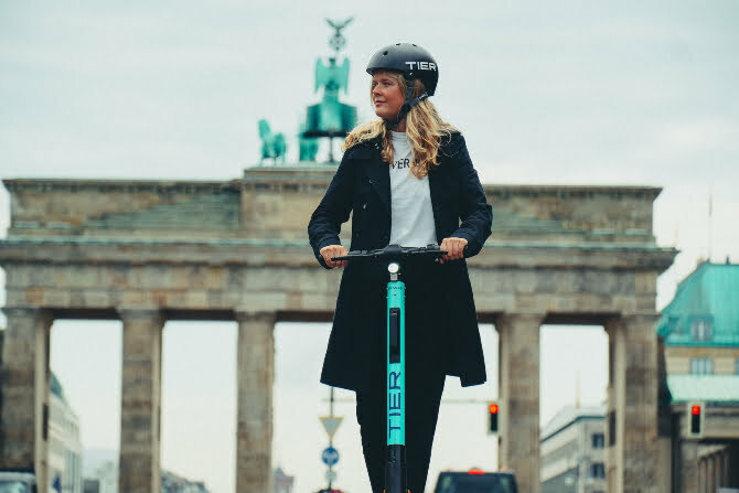 Tier, Berlin-based micro-mobility service picks up €55M as competition heats up in the booming e-scooter market