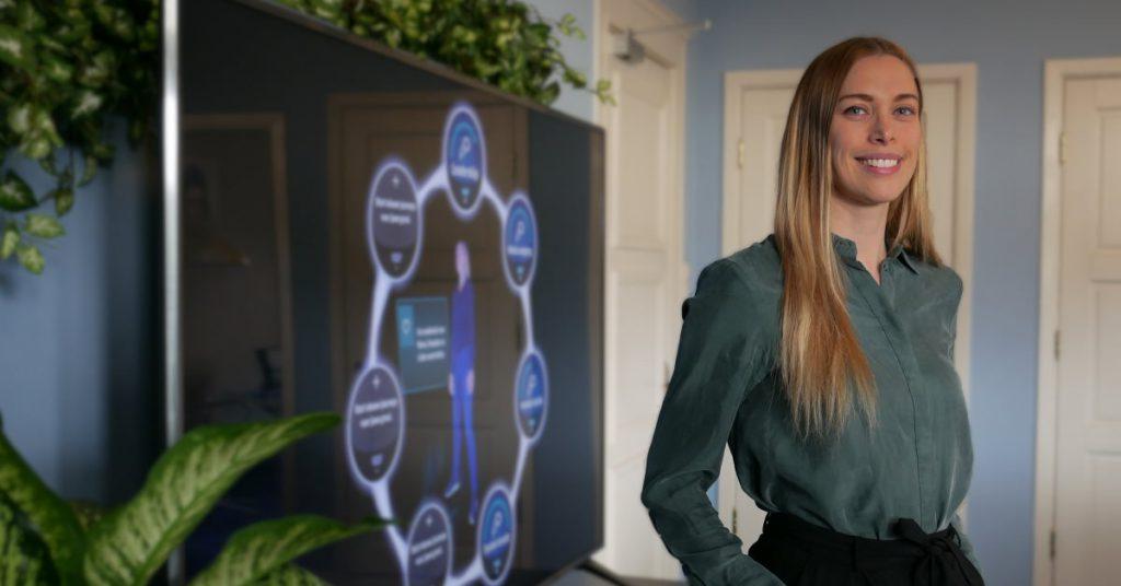 Blue Tulip Awards female founder Melanie van Halteren