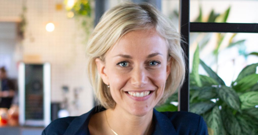 Blue Tulip Awards Freke van Nimwegen female founder