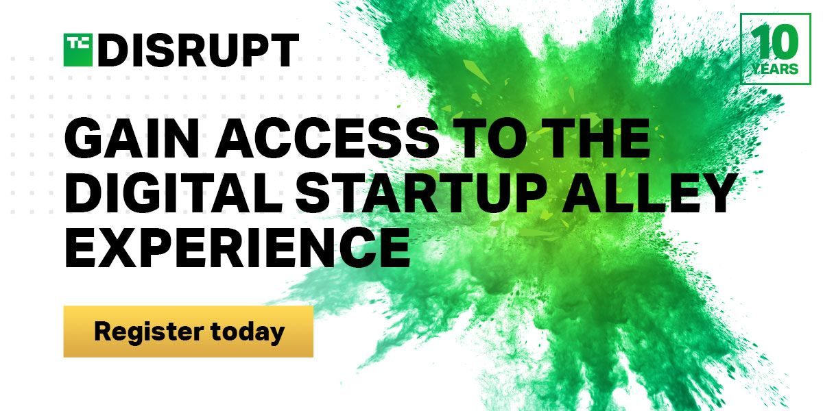 TechCrunch Presents: Disrupt - Digital Startup Alley