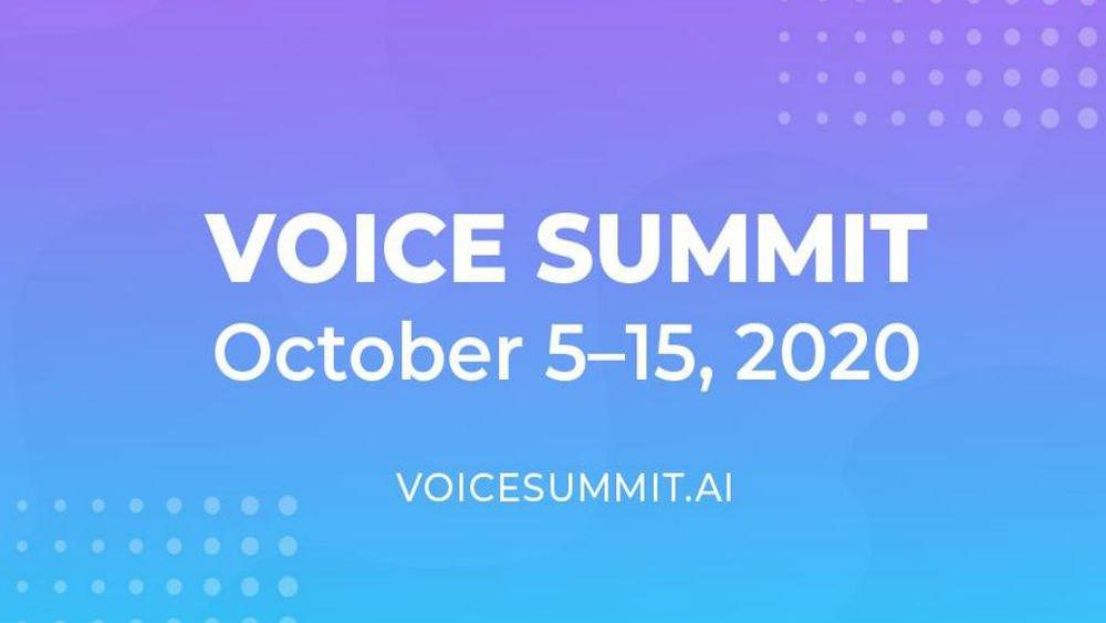 voice summit 2020
